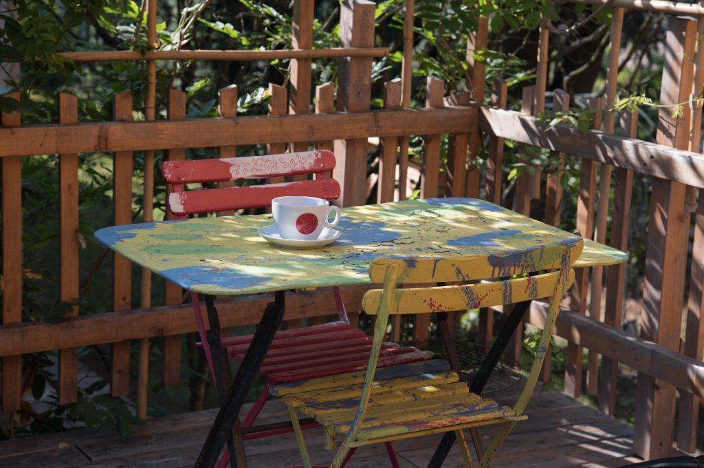 Das neue Café paul@paradise