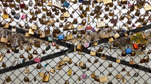 Love Padlocks In Paris